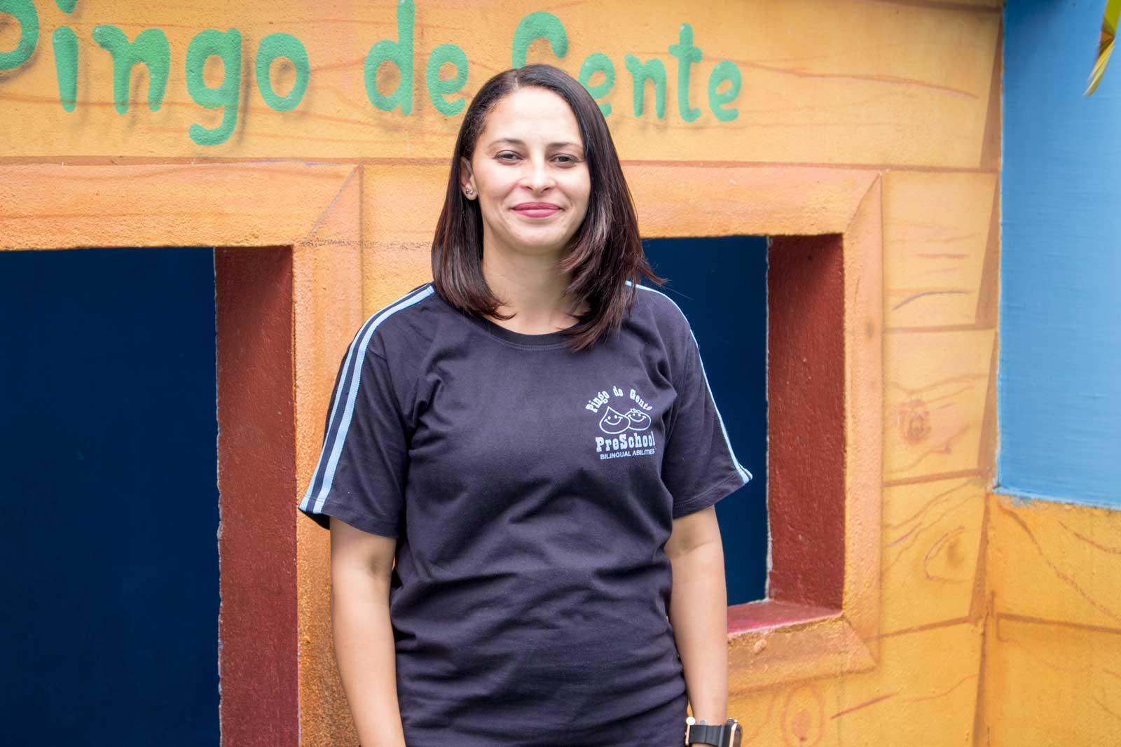 Professora Mônica - Turma do K3 - Tarde